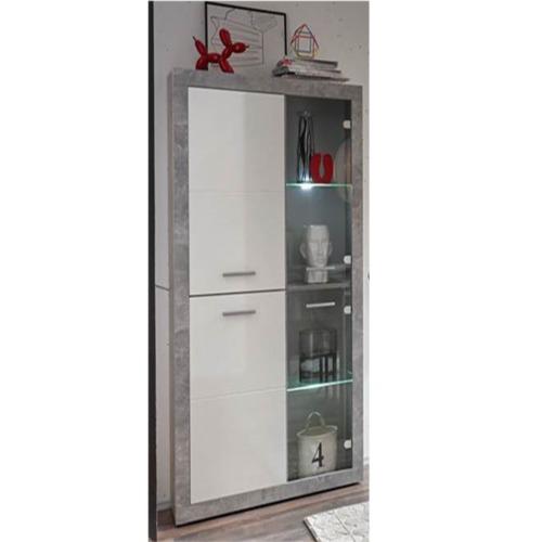 vitrine stone 92cm salle manger weba meubles. Black Bedroom Furniture Sets. Home Design Ideas