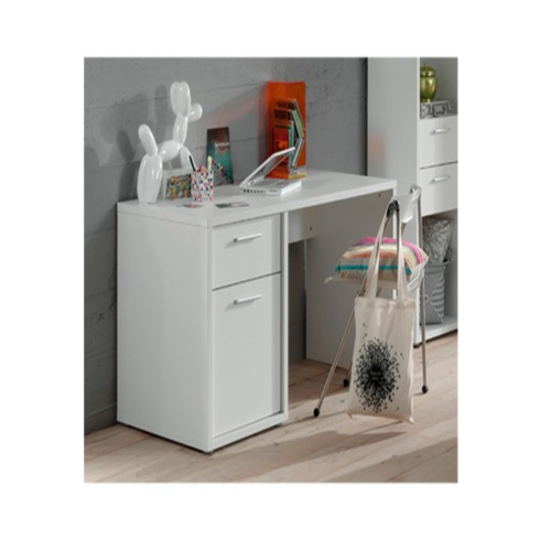 Bureau 135x68cm weba meubles for Meuble bureau weba