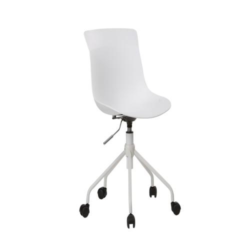 Chaise de bureau tulip blanc bureau weba meubles for Meuble bureau weba