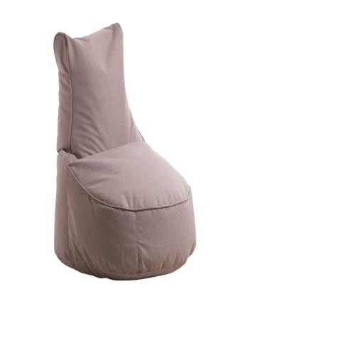 pouf poire comfort tissu rose weba meubles. Black Bedroom Furniture Sets. Home Design Ideas