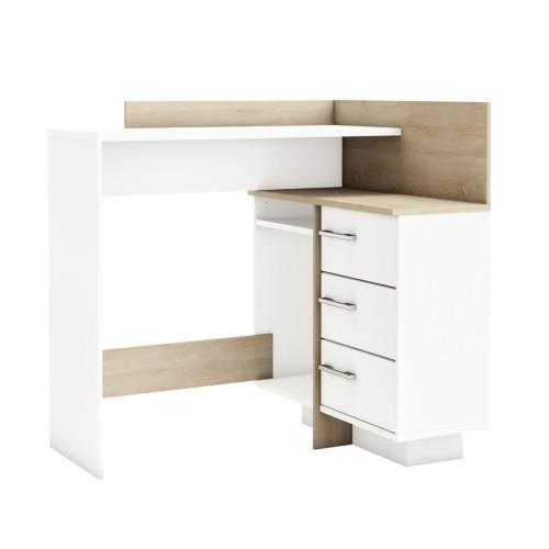 Bureau d 39 angle thales 128 80x83 20cm bureaux weba meubles for Meuble bureau weba