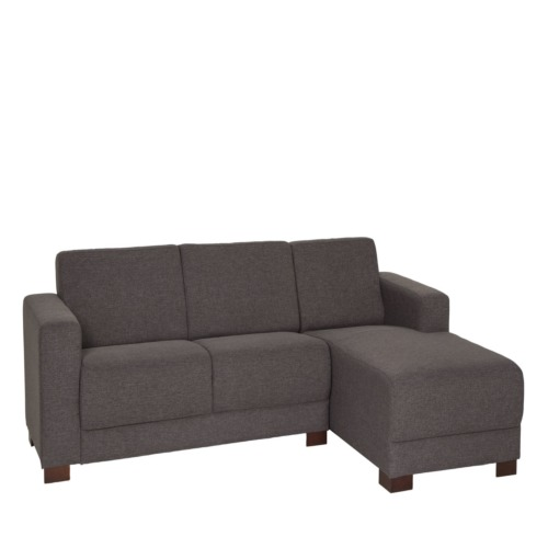 Canap d 39 angle willy tissu gris weba meubles for Canape willy