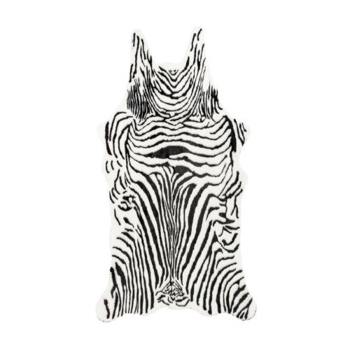 Peau d 39 animal zebra weba meubles for Meuble tv zebra