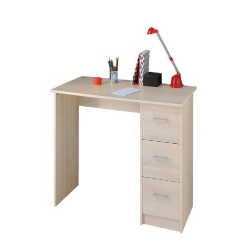 Bureau infinity 121x55cm bureaux weba meubles for Meuble bureau weba