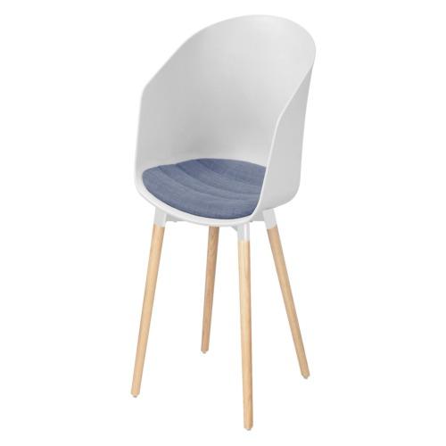 Chaise blanc chaises de salle manger weba meubles for Salle a manger weba