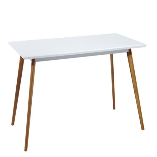 Table tell 120x80cm blanche tables de salle manger for Salle a manger weba