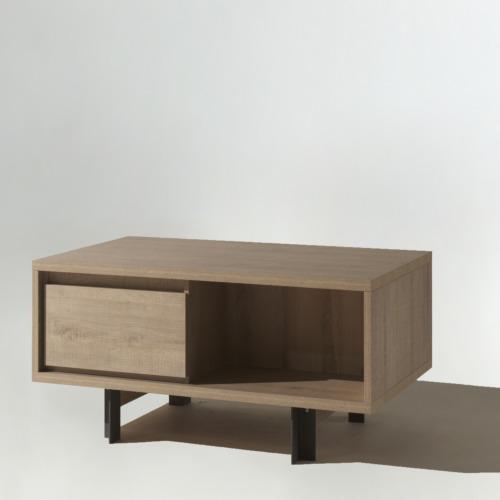 Table de salon solid 123x80cm meubles d 39 appoint weba - Meuble d appoint salon ...