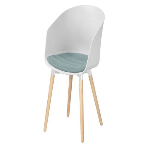 Chaise blanc salle manger weba meubles for Salle a manger weba