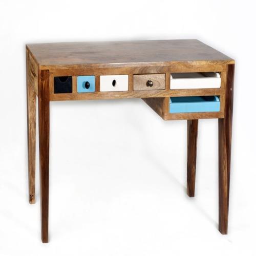 Bureau dunes 130x45cm weba meubles for Meuble bureau weba