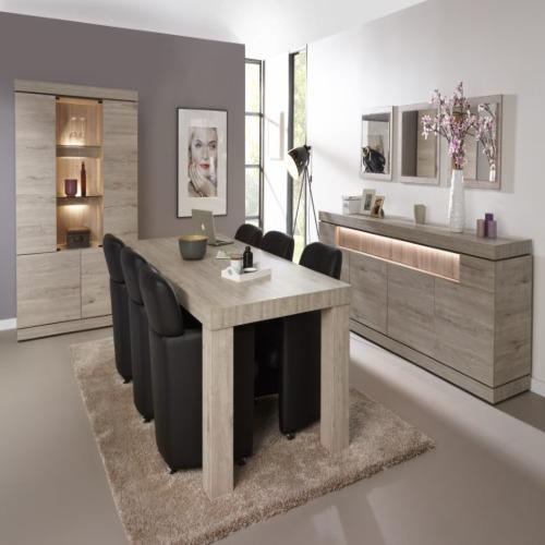 salle manger etna avec chaises omega weba meubles for salle a manger weba